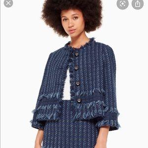 Kate spade Madison Avenue tweed jacket